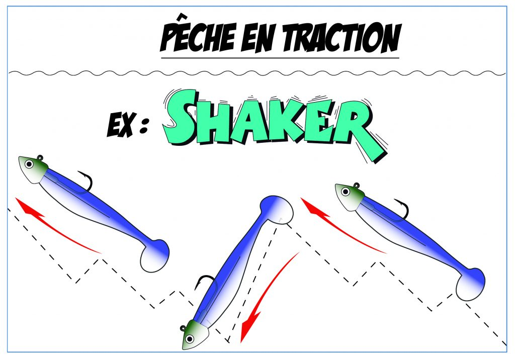 Pêche en Traction - Shaker