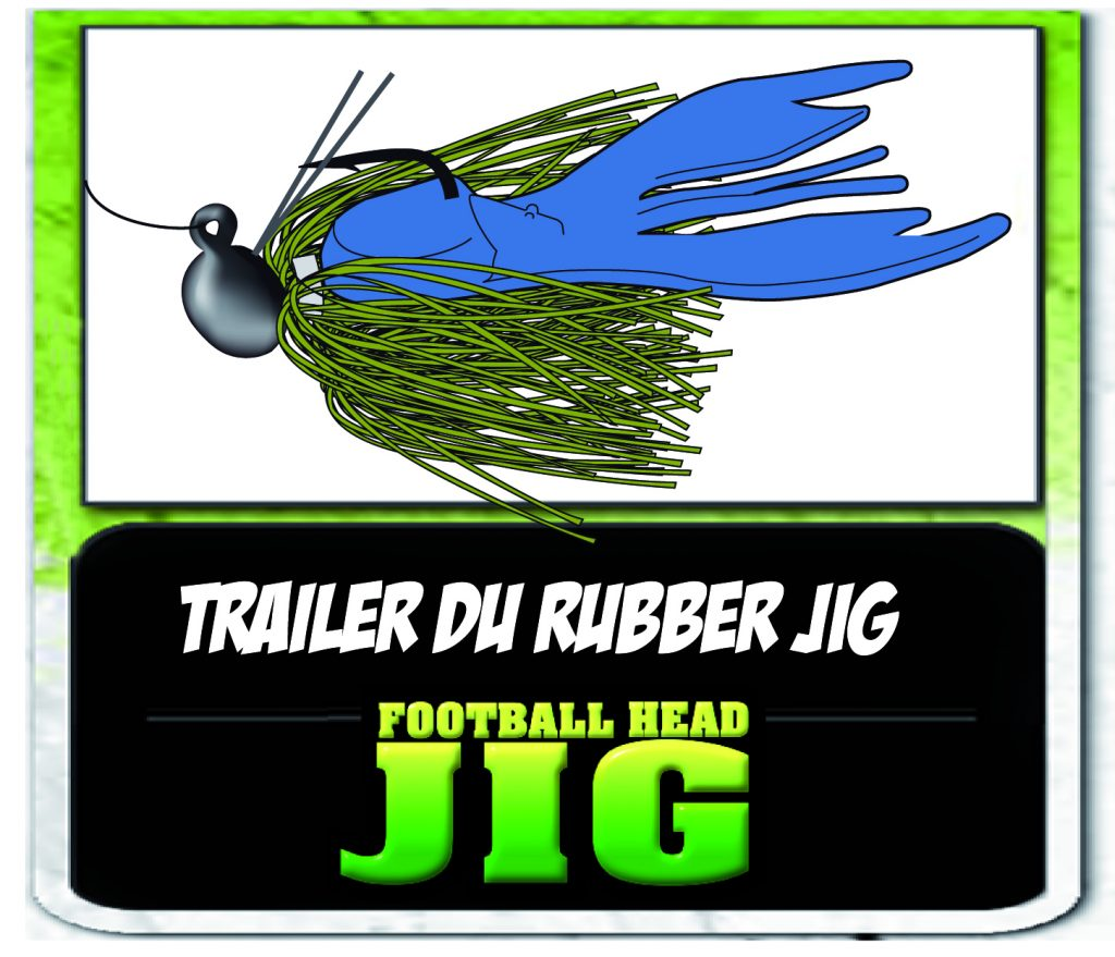 Chunk Yum en trailer d'un Football Head Jig
