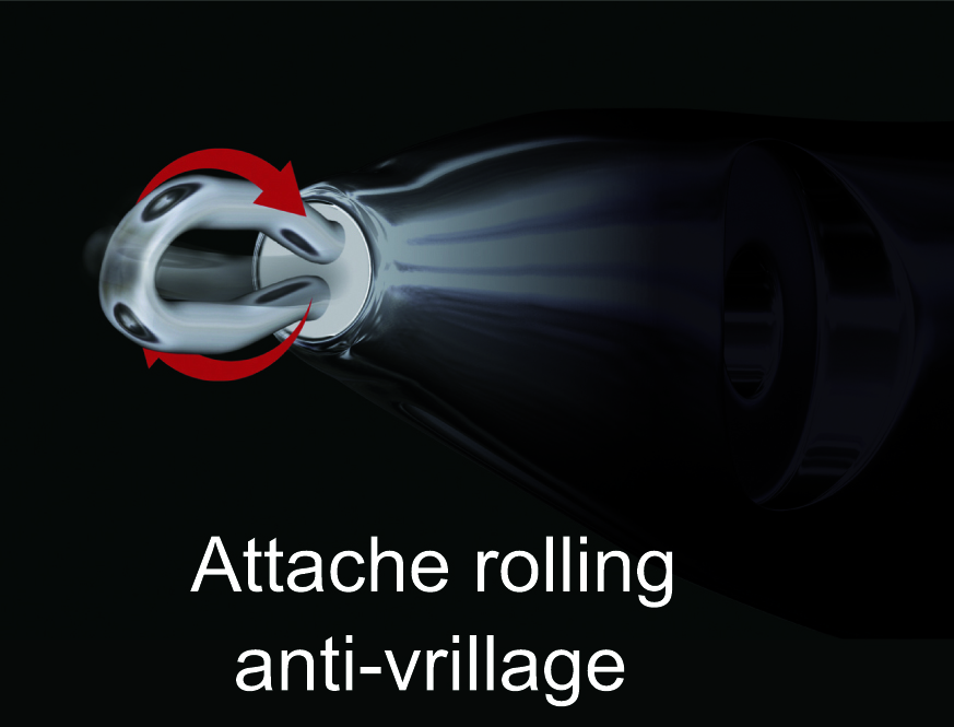 L'attache rolling anti-vrillage