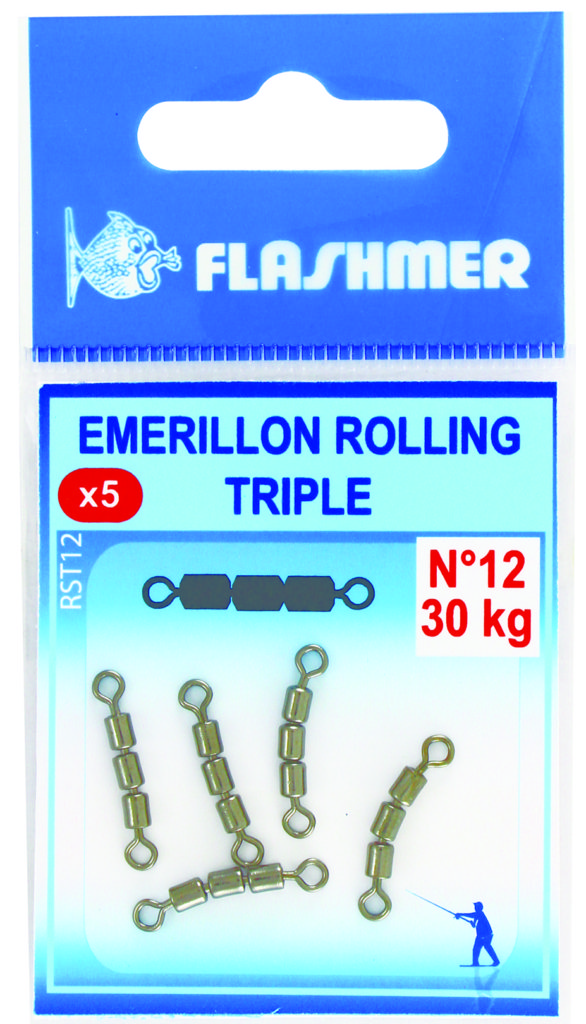 Emerillon rolling triple Flashmer