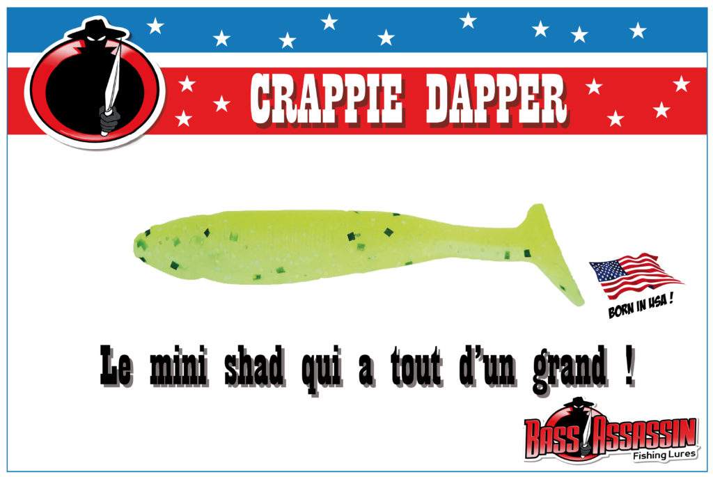 Crappie Dapper Bass Assassin
