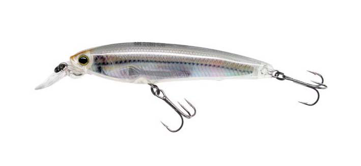 3DR Minnow (70 mm) en coloris Glass Minnow