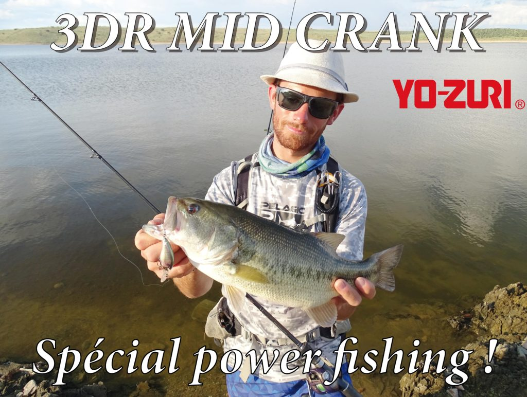 3DR Mid Crank Yo-Zuri : spécial power fishing