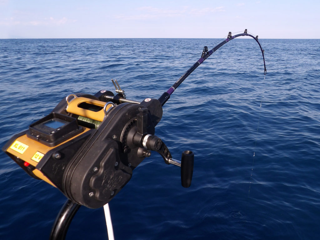 Le moulinet XL611 Kristal Fishing en action !