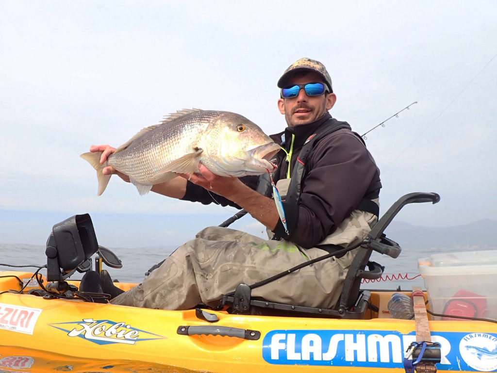 Magnifique denti pris par Etienne en light jigging au Jidai Explorer Tackle