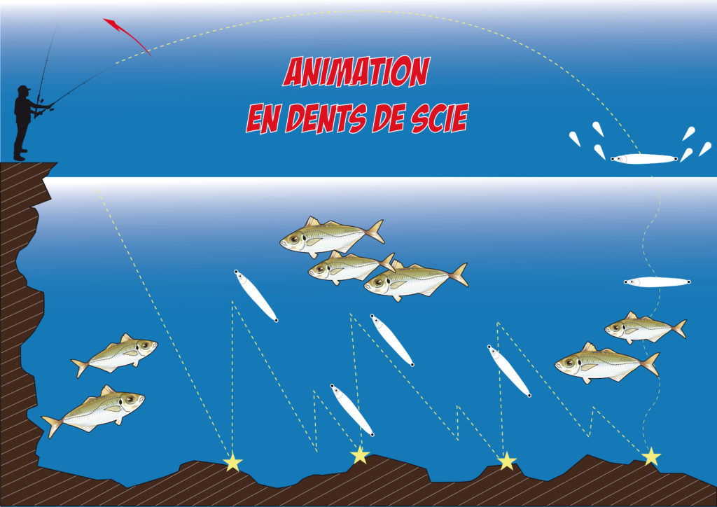 Animation en dents de scie