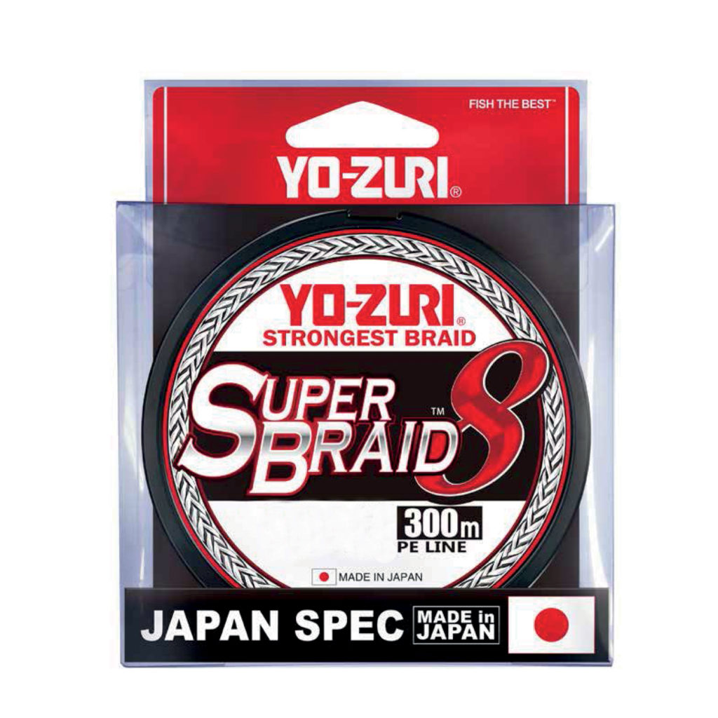 Superbraid 8X Yo-Zuri.